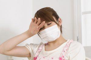 風邪や腹痛などの体調不良